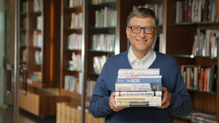 Here are the 7 best books Bill Gates read in 2013