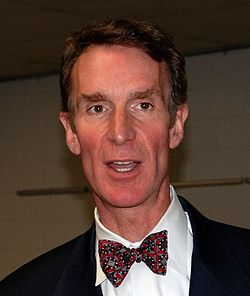 Bill Nye is probably pretty happy with Merriam-Webster's word of the year.