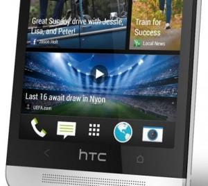 HTC One's BlinkFeed.