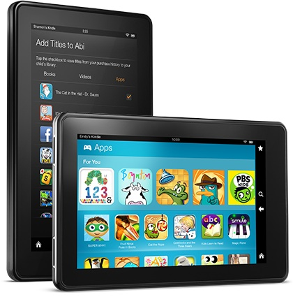 kindle fire can  books