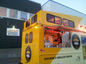 The Cheese Wizards food truck hops around Seattle serving up grilled cheese sandwiches and tomato soup. They also are now accepting Bitcoin as a payment option.