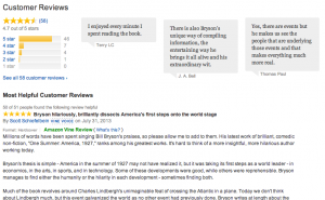 At first, publishers criticized Amazon for including negative reviews.