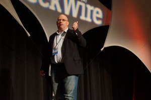 Zulily CEO Darrell Cavens at GeekWire's Startup Day in September.