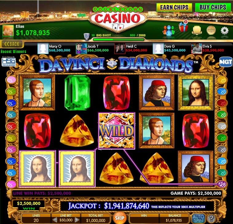 Online casino vegas da vinci diamonds casino in las stardust vegas