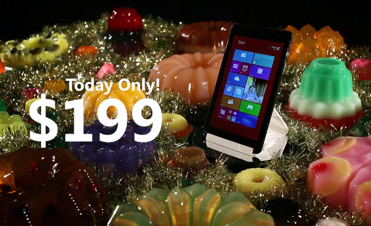 microsoft christmas commercial