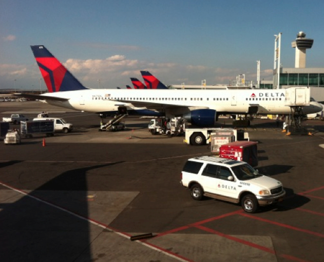 Pushing back on Delta Airlines