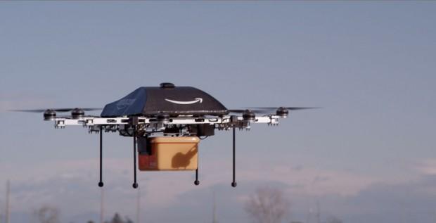 "Amazon's Prime Air ""Delivery Drone."""