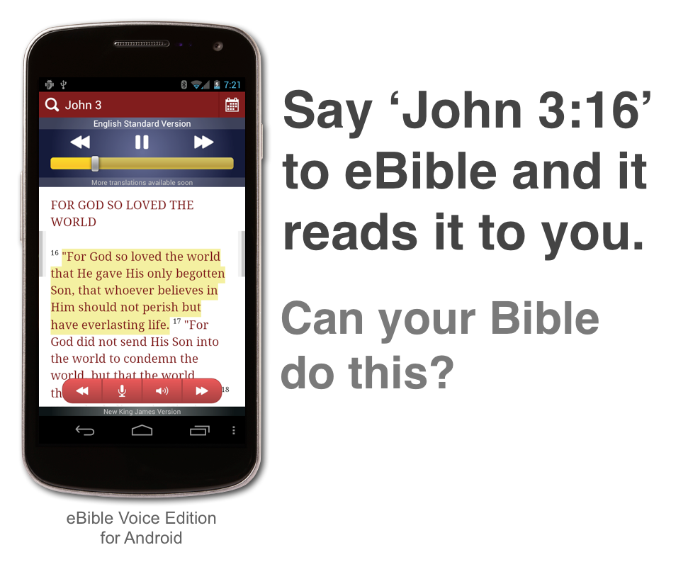 Meet the first voice-enabled Bible: A Siri for John 3:16? – GeekWire