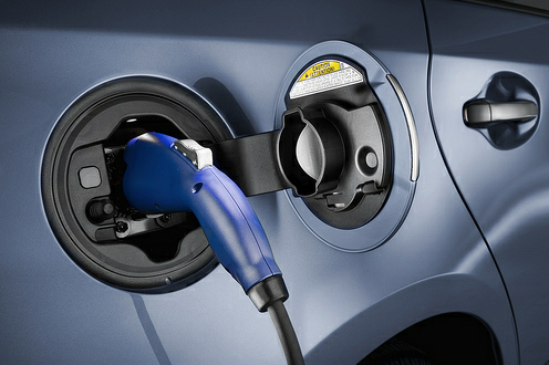 Electric Vehicle Plug Image Via Toyota Uk