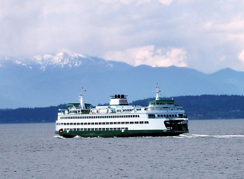 Washington state ferry. Photo via Christine Majul