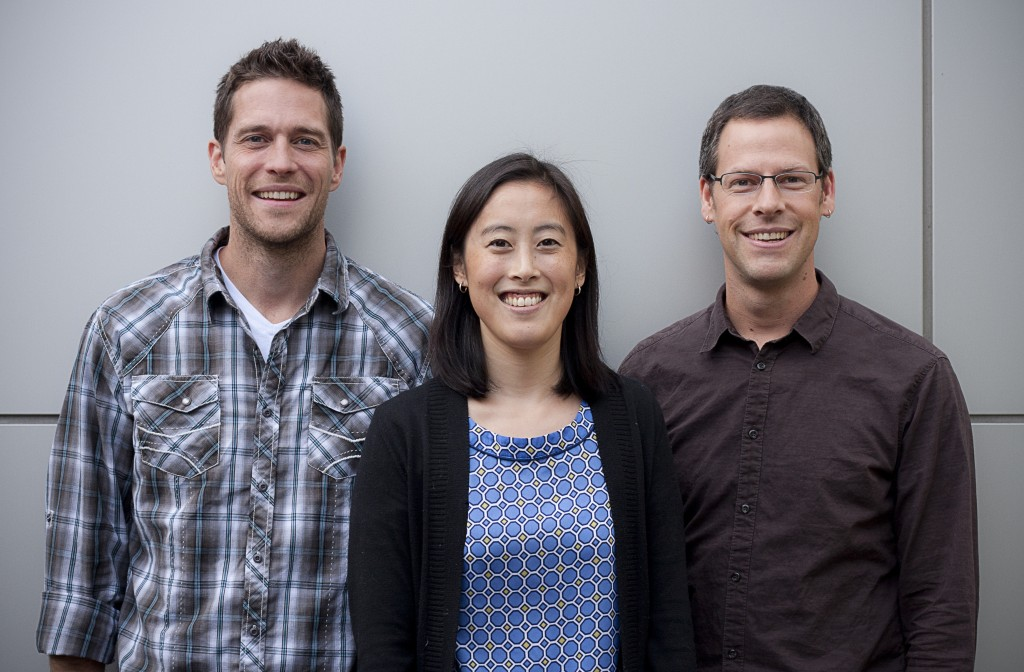 Everpath founders (L to R): Doug Gradt, Sandi Lin and Jason Stewart.