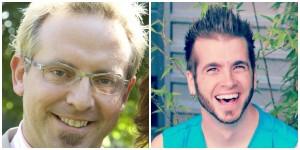 Game it Forward founders Morgan Belford and Brandon  Bozzi.