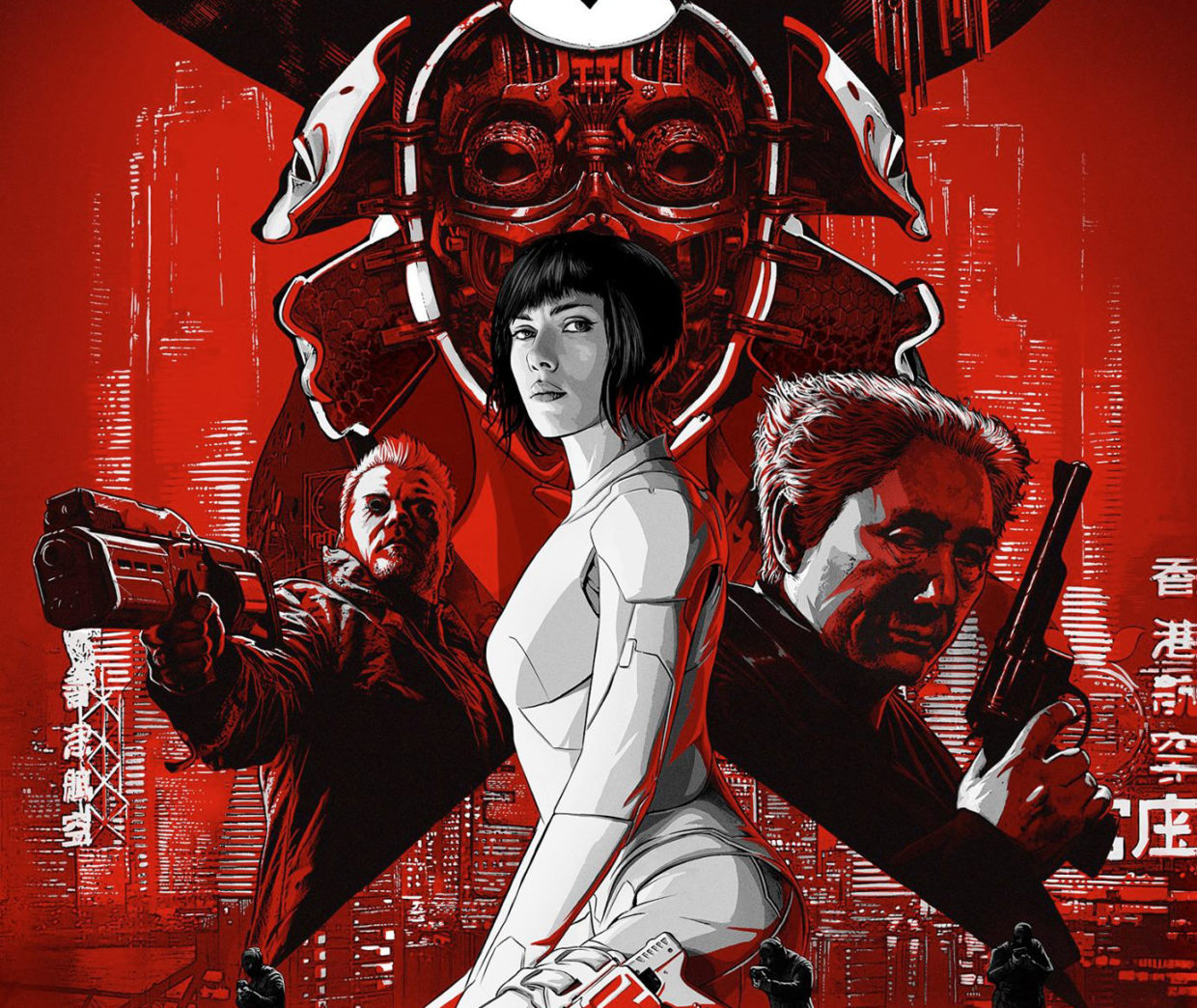 6 Lessons Ghost In The Shell Can Teach You About Cybersecurity Geekwire