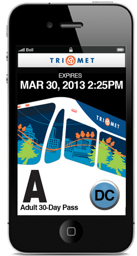 GlobeSherpa created a mobile ticketing app for Portland's TriMet.