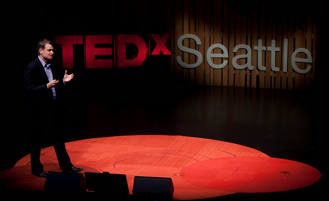 Greg Gottesman spoke about the student loan problem at TEDxSeattle on Sunday.