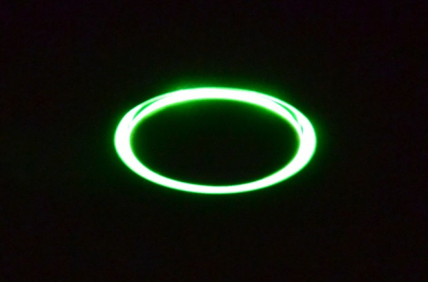 Nightly Promise - a brief green glow to tell you it is working