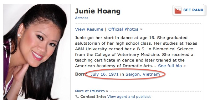 junie hoang biography
