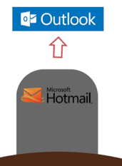 Farewell hotmail microsoft previews outlook ending longtime farewell hotmail microsoft previews outlook ending longtime webmail brand geekwire stopboris Choice Image