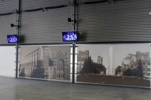 Just one of 700 new displays at the renovated Husky Stadium. Photo via GoHuskies.com.