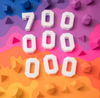 Instagram 700 million