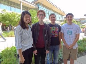A few Microsoft summer interns in 2013.