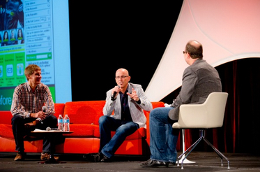 GoDaddy CEO Blake Irving at the GeekWire Summit 2013.
