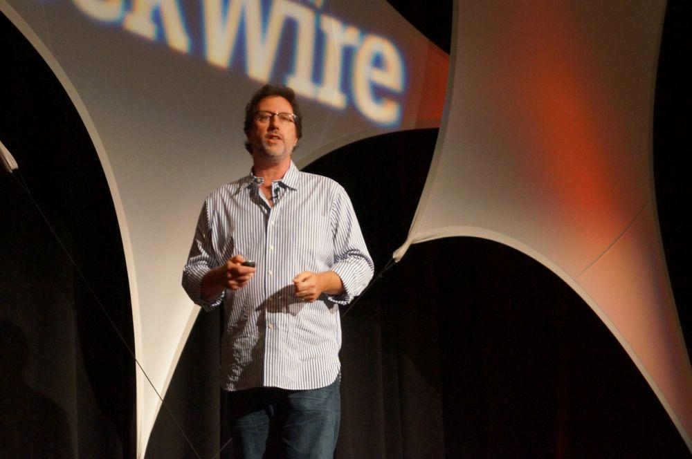 Jordan Weisman at GeekWire Startup Day 2012.