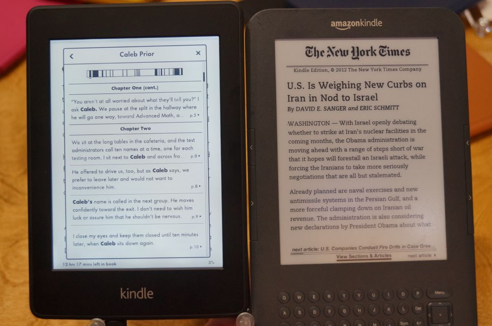 Closer look: Amazon's new Paperwhite and Immersion Reading