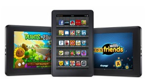 Amazon says that the Kindle Fire is its bestselling product.