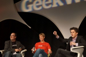 Box CEO Aaron Levie at the 2012 Startup Day event.