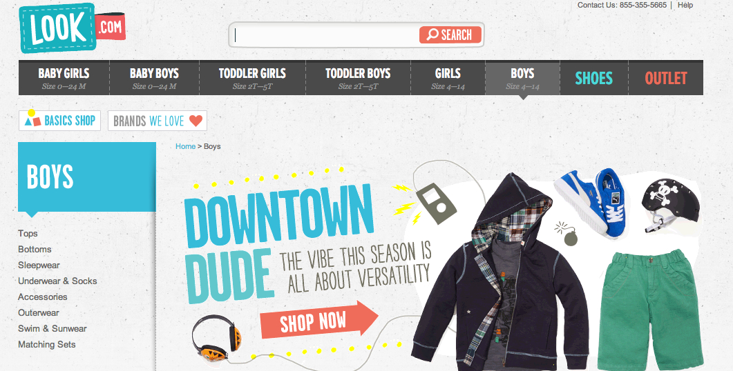 Amazon unveils Look.com, rivaling Zulily in kid's apparel