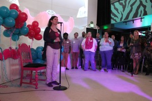 Lyft drivers and riders shared their stories at community rally in Seattle's Capitol Hill neighborhood Wednesday evening.