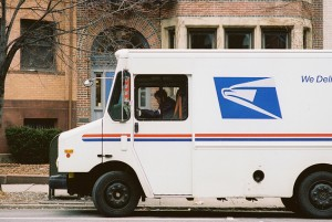 Mail truck. Photo via Chase Elliot