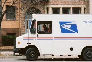 Mail truck. Photo via Chase Elliot