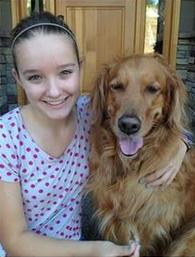 Brooke Martin with Kayla