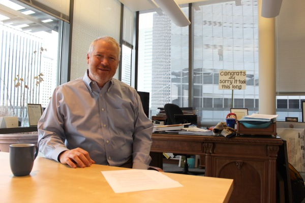 Incumbent Seattle Mayor Mike McGinn expressed worry for Gigabit Squared's plans to bring high-speed Internet to Seattle.