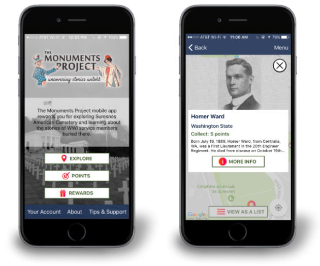Monuments Project app