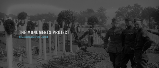 Monuments Project website
