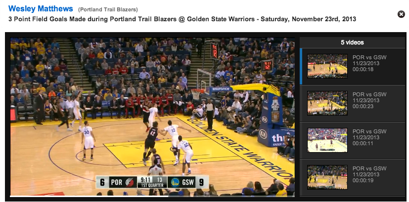 Nba Now Lets You Watch Video Replays Of Every Box Score Stat