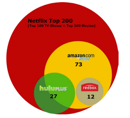 Image result for netflix competition