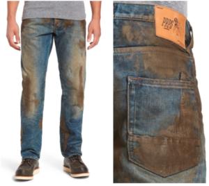 Fake mud jeans