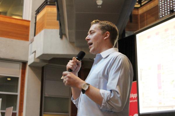 PatientSteam founder and CEO Ben Andersen.
