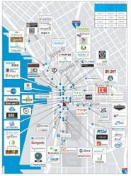 Pioneer Square Tech Map Where Are Tech Companies Hanging Their