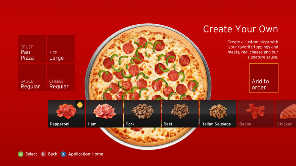 Xbox 360, now serving pizza: Microsoft console getting Pizza