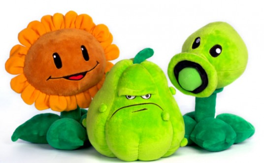 PopCap goes plush with first merchandise for Plants vs. Zombies ...