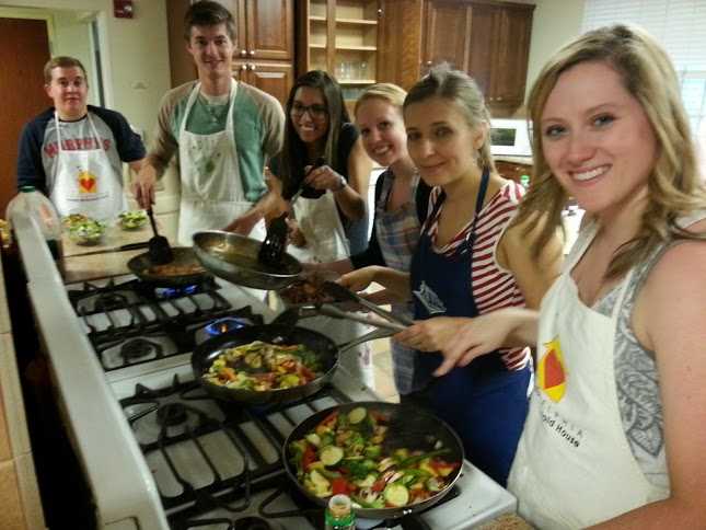 Rand Fishkin helped the SEER team cook for the families at Ronald McDonald House.
