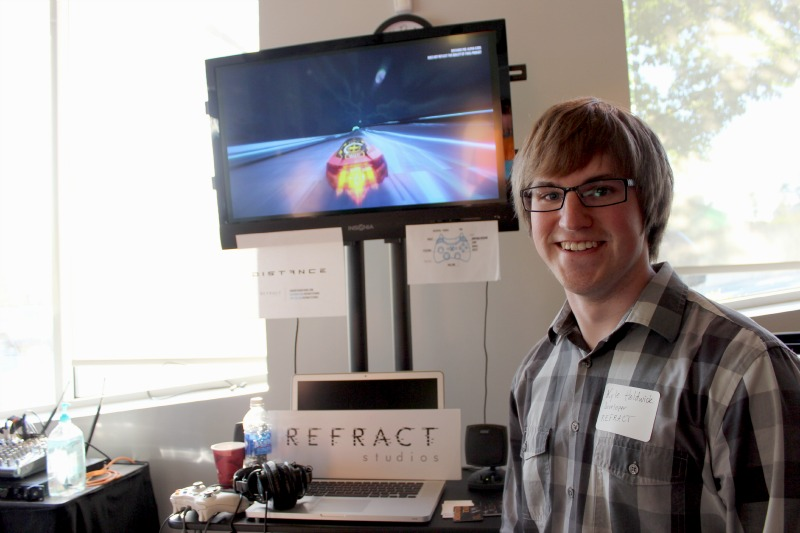 Kyle Holdwick, co-founder of Refract Studios.