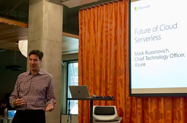 A serverless nirvana? Microsoft Azure CTO Mark Russinovich on the future of the cloud