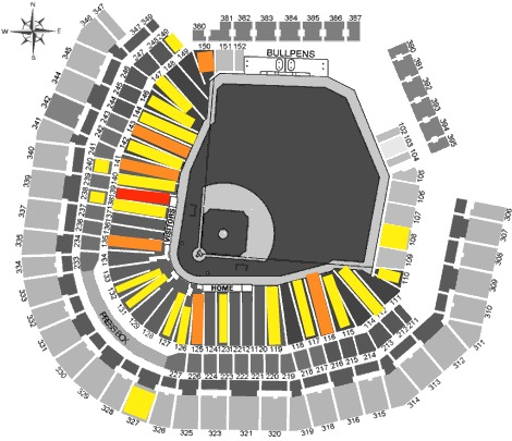 Testing IdealSeat: Can big data help me catch a foul ball ... on tacoma dome seat map, citi field seat map, three rivers stadium seat map, lp field seat map, martin stadium seat map, target field seat map, lincoln financial field seat map, dolphin stadium seat map, progressive field seat map, kingdome seat map, cashman field seat map, rangers ballpark seat map, osceola county stadium seat map, soldier field seat map, nrg stadium seat map, chase field seat map, legends field seat map, 5th avenue theater seat map, great american ball park seat map, mgm grand garden arena seat map,