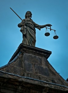 Scales of Justice. Photo via Eric the Fish